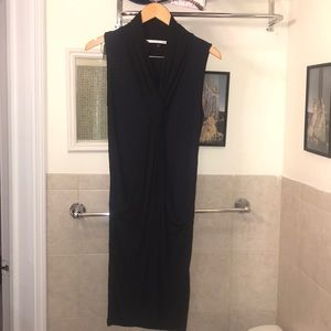 Diane von Furstenberg Black and dark blue dress